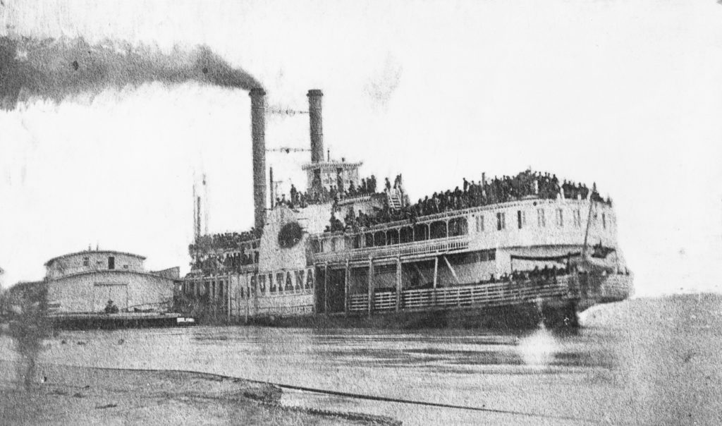 The Sultana Steamboat